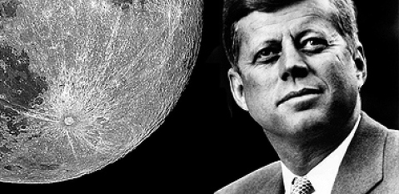 John F. Kennedy And the space race - Home